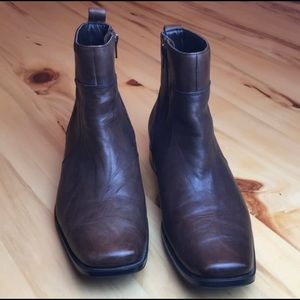 Rockport High Trend Toloni Brown Half Boot 8